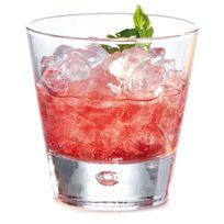 Durobor - Verre à cocktail en verre transparent forme conique - Set de 6 Norway - 27cl