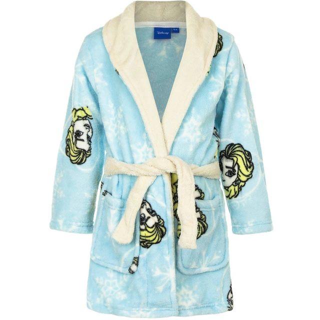 0ec4ddd79d992 Marque Generique - Peignoir La reine des Neiges 6 ans robe de chambre  enfant bleu