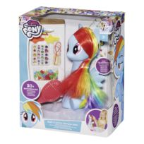 MY LITTLE PONY - Tête à coiffer Rainbow Dash - 1684090