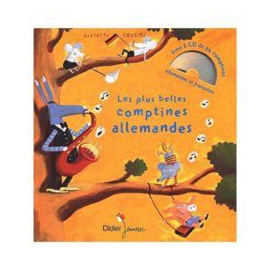 Didier Jeunesse - Les plus belles comptines allemandes 1 livre 1 Cd audio