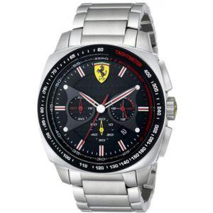 ferrari montres montre ferrari 830192 montre acier tachym tre homme achat vente montre. Black Bedroom Furniture Sets. Home Design Ideas