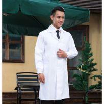 54de802fd6d78 Wewoo - Vêtement de travail de droguerie Docteur Vêtements Manches longues  Homme Blouses blanches, Taille