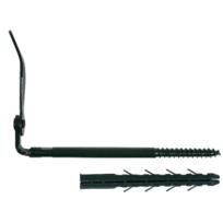 ING FIXATIONS - Arrêt de volet 0/10 ING FIXATION isolation extérieure - cheville 130 mm - arrêt 250 mm - A070190