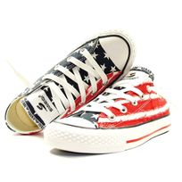 Siweiqi - Basket - Femme - Basse Ox America - Rouge Navy