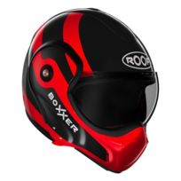 ROOF - Boxxer Fuzo Noir Rouge