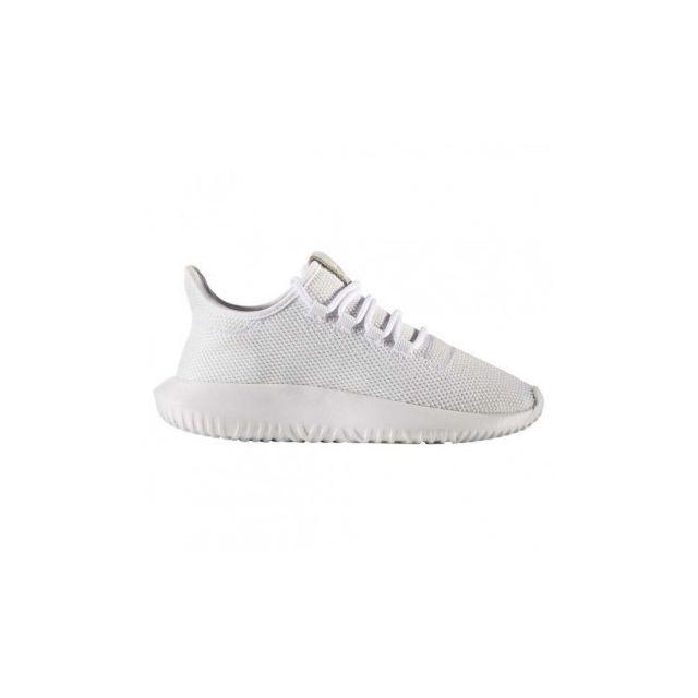 official photos 7907a 9c7d4 Adidas - Tubular Shadow J - Cp9467 - Age - Adolescent, Couleur - Blanc,  Genre - Mixte, Taille - 36 - pas cher Achat  Vente Chaussures basket - ...