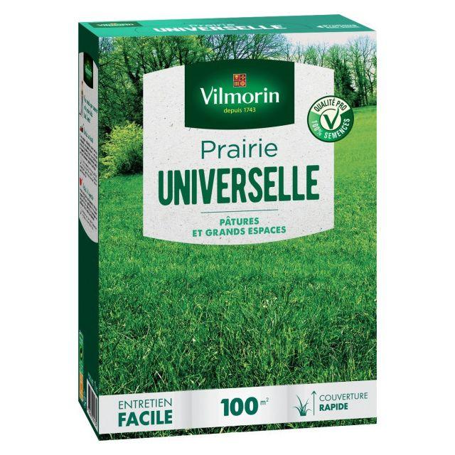 Vilmorin Gazon Prairie universelle boite de 1 kg 100 m²