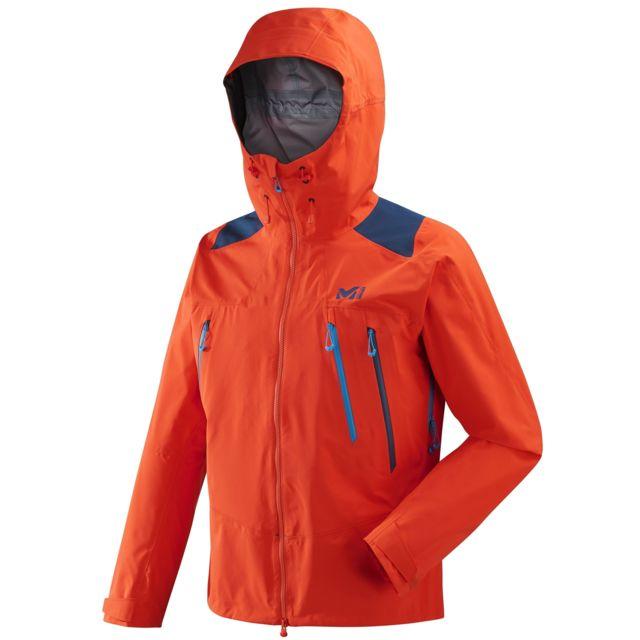 Millet Homme D'alpinisme Gore Cher Pas K Tex Orange Veste Pro ppqrUnvw