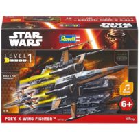 Revell - Star Wars Build&Play Poe's X-wing Fighter Maquette Pour Enfant