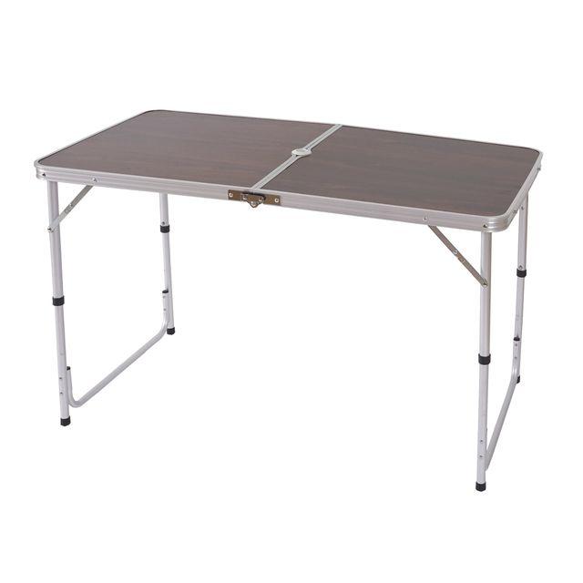 Mendler - Table de camping T367, table de jardin pliable, coffre ...