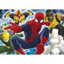 Clementoni - Puzzle 104 pièces maxi : Ultimate Spiderman