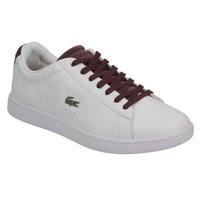 b8d89acbb9a Lacoste - Carnaby Evo 317 1 Spw White Red 734spw0006286 - pas cher ...