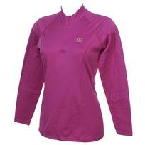 Damart Sport - Sous vêtements thermiques chaud Easybody 4 rse 1/2z tee l Rose 26260