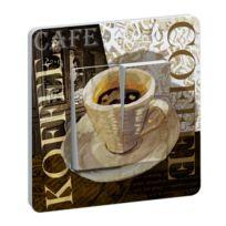 Millumine - Interrupteur design Cuisine Coffee Double
