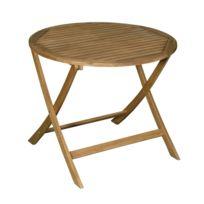 Table de jardin ronde - Achat Table de jardin ronde pas cher - Rue ...