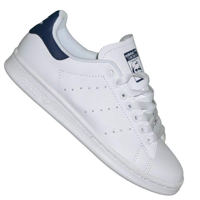 Adidas originals - Baskets - Femme - Stan Smith - Blanc Navy