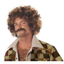 California costume - Perruque Disco Bouclée