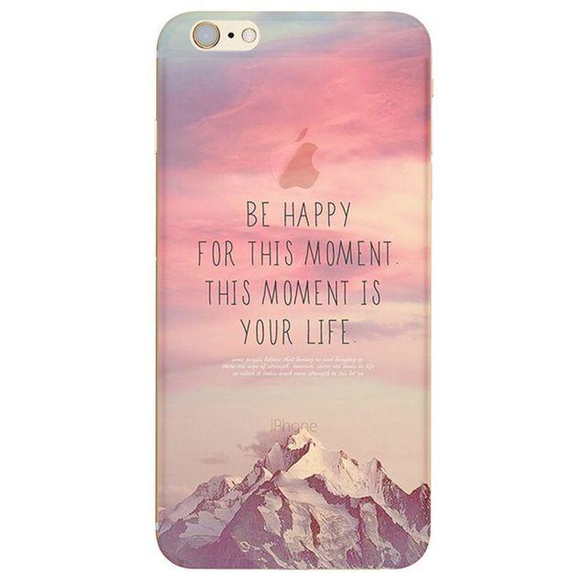 coque iphone 7 plus montagne