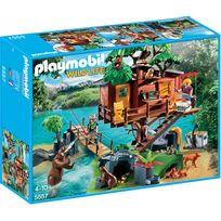 Playmobil - Cabane des aventuriers dans les arbres - 5557