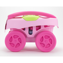 ABRICK - MAXI - Chariot 40 pièces rose - 7712
