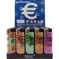 Adnauto - 50 Briquets electroniques rechargeables billets Francs 921609