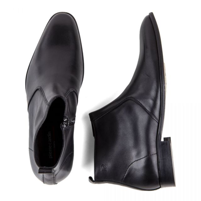 Bottines cuir Mars Homme Chaussures noires HIYE29WeD