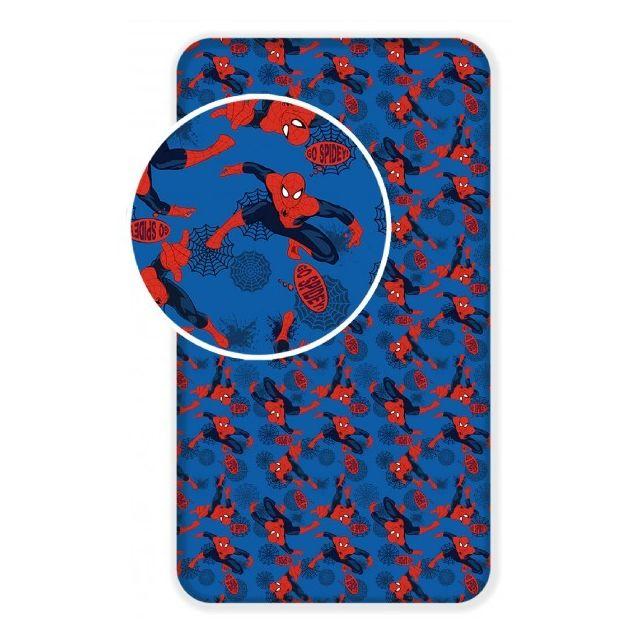 drap housse spiderman pas cher Spiderman   Marvel   Drap Housse Coton   Literie enfant 90 x 200  drap housse spiderman pas cher