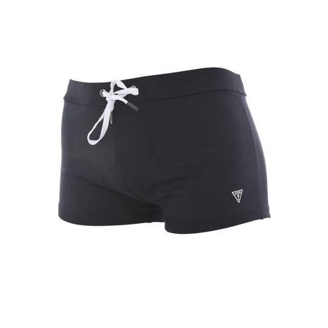 0e42e420d2e Guess - Maillot De Bain Boxer F82s02 - Jeans - pas cher Achat   Vente  Maillots de bain - RueDuCommerce