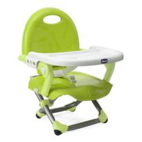 CHICCO - Réhausseur de chaise Pocket Snack Lime