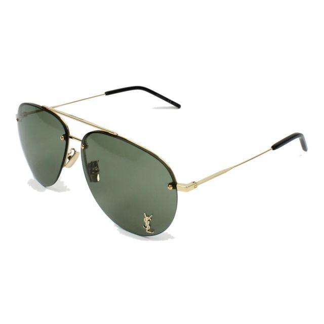 Yves Saint Laurent - Classic-11-F M 007 Or - Lunettes de soleil - pas cher  Achat   Vente Lunettes Tendance - RueDuCommerce 835ce9e0b0ec