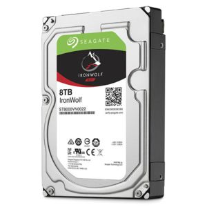 SEAGATE - IronWolf 8 To NAS HDD 3,5