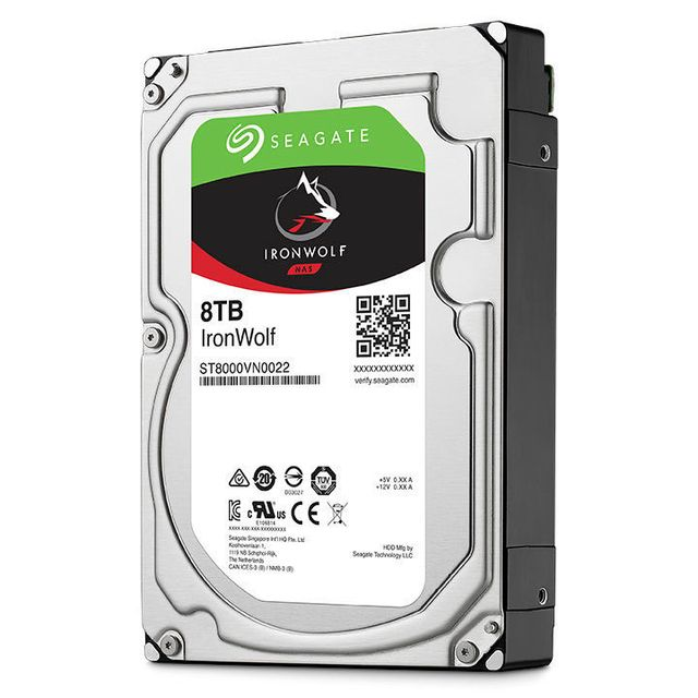 SEAGATE IronWolf 8 To NAS HDD 3,5