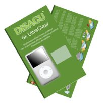 Disagu - Apple iPod classic 160 Gb Film de protection d'écran - 6x Ultra Clear pour Apple iPod classic 160 Gb