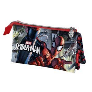 Spiderman Trousse 3 compartiments Spiderman Noir drhuGGCtL