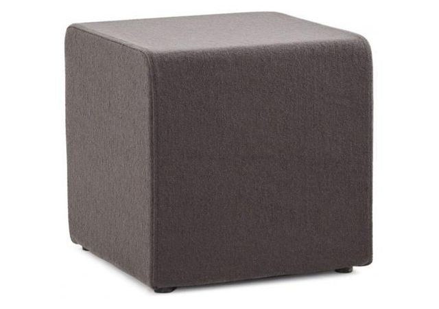 declikdeco pouf cubique multi fonction gris anthracite feli 43 x 43 cm pas cher achat. Black Bedroom Furniture Sets. Home Design Ideas