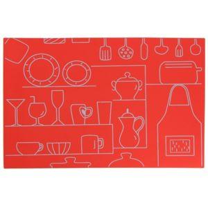 Lebrun - Set de table rouge Cucina - pas cher Achat / Vente ...