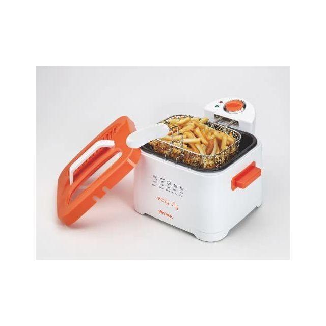 Ariete friteuse électrique de 2,5L 2000W orange blanc