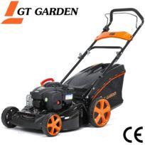 GT GARDEN - Tondeuse thermique poussée, 125 cm3, moteur B&S
