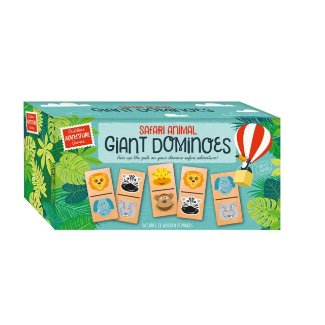 Professor puzzle GIANT DOMINOES - COLLECTION OUTDOOR ADVENTURE GAMES - AGG2971