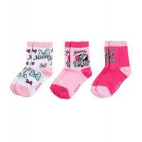 Minnie - Lot de 3 paires de chaussettes Disney