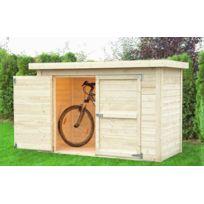 Dedans Dehors - Abri en bois pour vlos Cykel