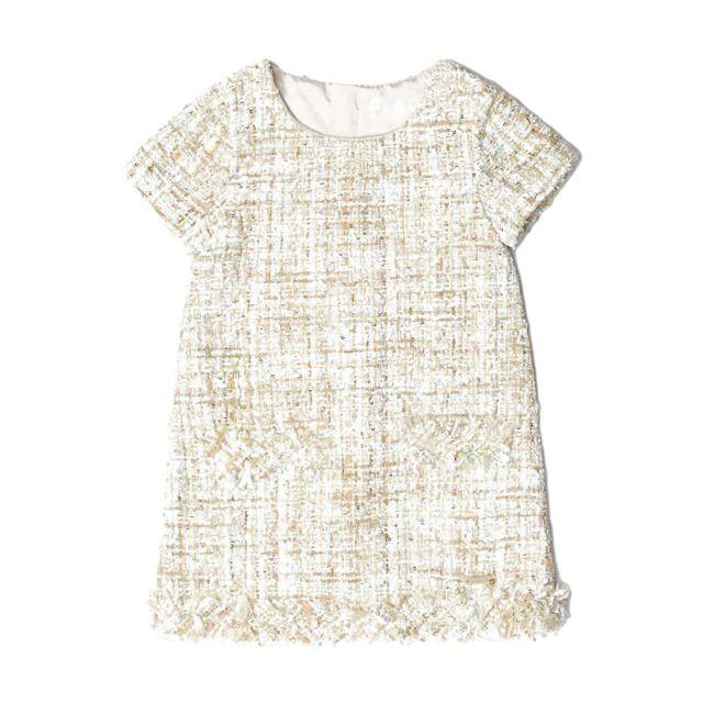 6cf885a53a85b Guess - Robe Brodés Dress Fille K84k22 Beige Clair - Taille - 3 ans - pas  cher Achat   Vente Robe enfant - RueDuCommerce