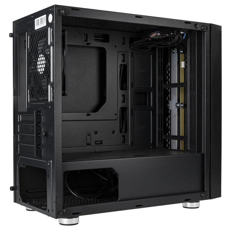 Inspire K6 - Micro-ATX - RGB - Noir - Avec fenêtre