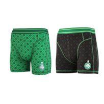 f432a944668a3 Made In Sport - Lot 2 Boxers As Saint-etienne Noir vert Junior - pas ...