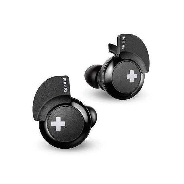 Philips Casque Sans Fil Bluetooth Shb4385bk00 Noir Pas Cher