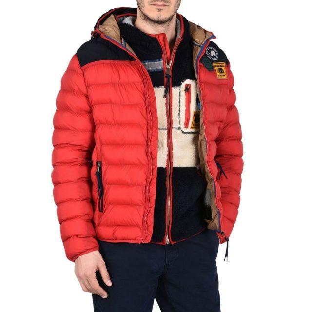 e715495857b Napapijri - Articage Sparkling Red - pas cher Achat   Vente Doudoune homme  - RueDuCommerce