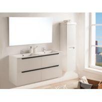 Colonne salle bain blanc laque - catalogue 2019 - [RueDuCommerce ...