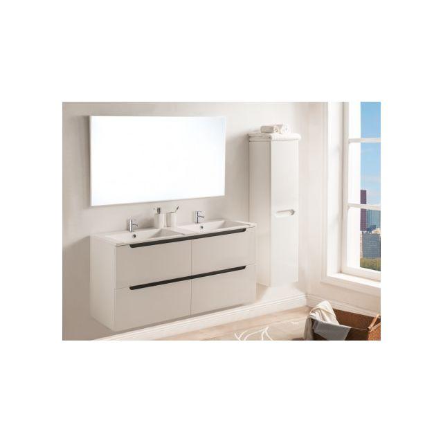 MARQUE GENERIQUE - Ensemble SELITA - meubles de salle de bain avec ...
