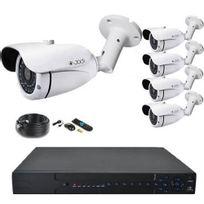 Securitegooddeal - Kit Ahd 1080P 5 Tubes 2,0MP Ccd Sony