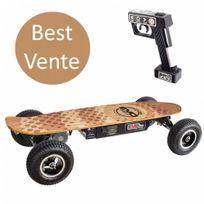 Evo Skate - Skateboard électrique à télécommande 800W V8 Gel/Plomb 12AH Autonomie : 14 km Vitesse : 30 km/h